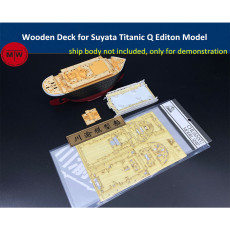 Chuanyu Wooden Deck for Suyata Titanic Q Editon Ship Model CYD007
