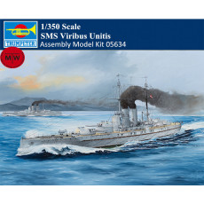 Trumpeter 05364 1/350 Scale SMS Viribus Unitis Military Plastic Assembly Model Kits