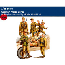HobbyBoss 84410 1/35 Scale German Africa Corps Soldier Figures Military Plastic Assembly Model Kits