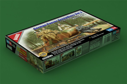 HobbyBoss 84405 1/35 Scale German Panzer Grenadiers Soldier Figures Military Plastic Assembly Model Kits