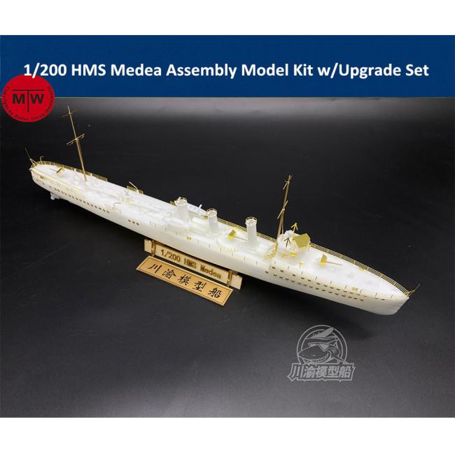 1/200 Scale HMS Medea Assembly Model Kit w/Upgrade Set CY517