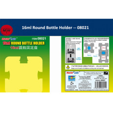 Master Tools 08021/08022 16ml Round/40ml Square Bottle Holder Model Building Tools