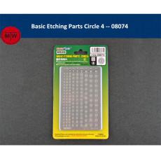 Master Tools 08071 08072 08073 08074 Basic Etching Parts Circle Detail Improvement for Gundam Model Accessory