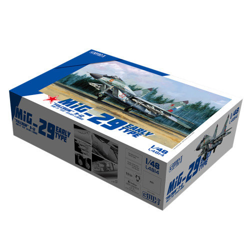 Great Wall Hobby L4814 1/48 Scale MiG-29  Fulcrum  9-12 Early Type Military Aircraft Assembly Model Kits