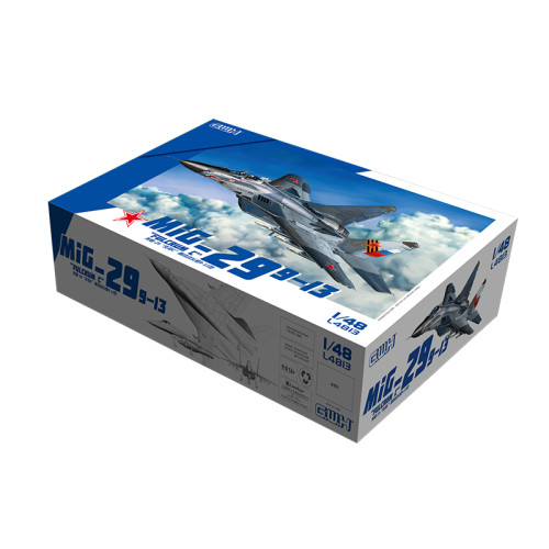 Great Wall Hobby L4813 1/48 Scale Russian Mig-29  Fulcrum C  9-13 Fighter Military Plastic Assembly Model Kits