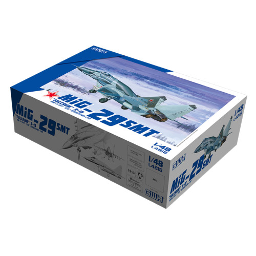 Great Wall Hobby L4818 1/48 Scale MiG-29 STM  Fulcrum  9-19 Military Plastic Airplane Assembly Model Kit