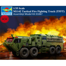 Trumpeter 01067 1/35 Scale M1142 Tactical Fire Fighting Truck (TFFT) Military Plastic Assembly Model Kits