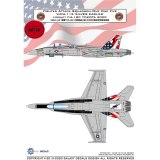 Galaxy G48037 1/48 Scale VMFA-115 Silver Eagles F/A-18C Hornet Yokota 2020 Decal for Kinetic/Academy Model