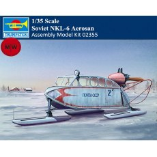 Trumpeter 02355 1/35 Scale Soviet NKL-6 Aerosan Military Plastic Assembly Model Kits