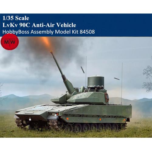 HobbyBoss 84508 1/35 Scale LvKv 90C Anti-Air Vehicle Plastic Assembly Model Kits