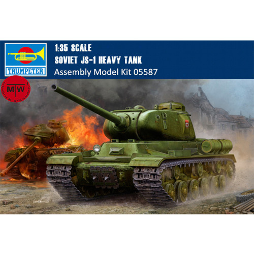 Trumpeter 05587 1/35 Scale Soviet JS-1 Heavy Tank Military Plastic Assembly Model Kits