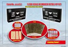 Trumpeter 66602 1/200 Scale Bismarck Detail Up Set for Trumpeter 03702 Model Kit