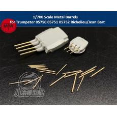 1/700 Scale Metal Barrels for Trumpeter 05750 05751 05752 Richelieu/Jean Bart Battleship Model CYG063