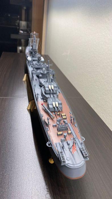 ChuanYu Model 1/200 Scale WWII Japanese Navy Destroyer Shimakaze (Island Wind) Assembly Model & RC Upgrade Set CY512