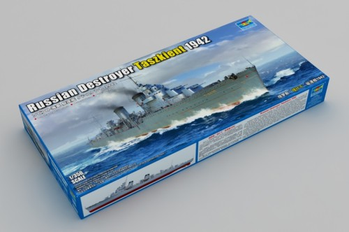 Trumpeter 05357 1/350 Scale Russian Destroyer Taszkient 1942 Military Plastic Assembly Model Kits