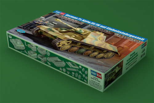 HobbyBoss 80150 1/35 Scale German Pz.Kpfw.III/IV auf Einheitsfahrgestell Military Tank Plastic Assembly Model Kits