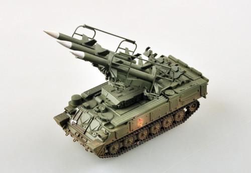 Trumpeter Easy Model 35110 1/72 Scale SAM-6 KUB Poland Military Plastic Finished Model Kit