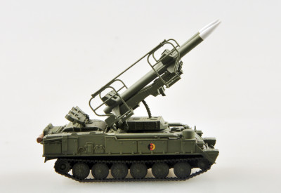 Trumpeter Easy Model 35109 1/72 Scale SAM-6 KUB East Germany Military Plastic Finished Model Kit