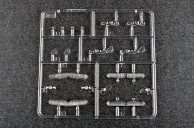 Trumpeter 06282 1/350 Scale BM-2 Plastic Aircraft Assembly Model Kit 12pcs/set
