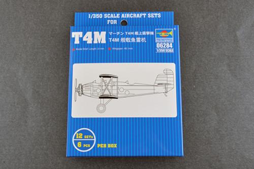 Trumpeter 06284 1/350 Scale T4M Plastic Aircraft Assembly Model Kit 12pcs/set