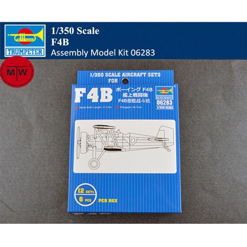 Trumpeter 06283 1/350 Scale F4B Plastic Aircraft Assembly Model Kit 12pcs/set