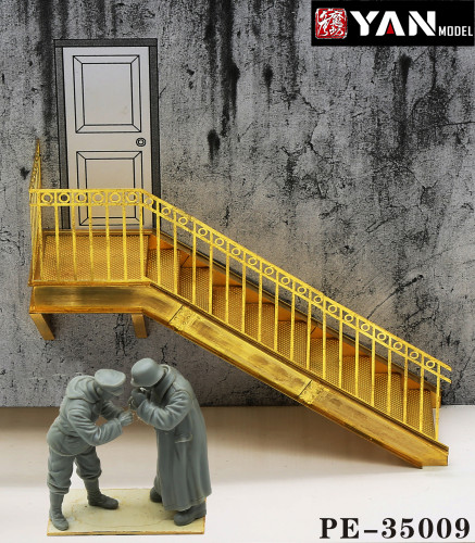 1/35 Scale Factory Steel Structure Stairs or Extension Components Model Scene DIY PE-35009/PE-35009B