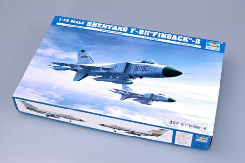 Trumpeter 01610 1/72 Scale Shenyang F-8II Finback-B Fighter Military Plastic Aircraft Assembly Model Kit