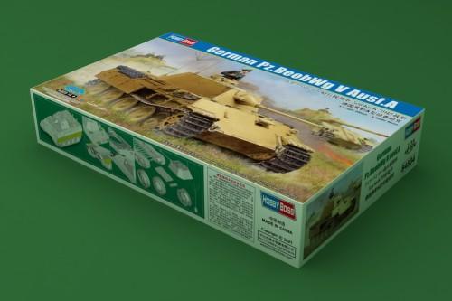 HobbyBoss 84534 1/35 Scale German Pz.BeobWg V Ausf.A Military Plastic Tank Assembly Model Kit