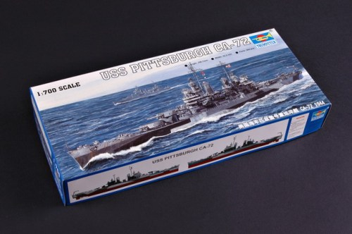 Trumpeter 05726 1/700 Scale USS Pittsburgh CA-72 Military Plastic Assembly Model Kits