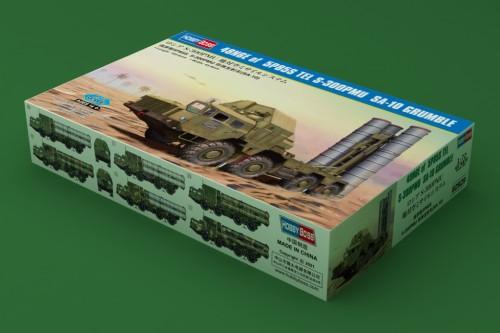 HobbyBoss 82929 1/72 Scale Russian 48N6E of 5P85S TEL S-300PMU SA-10 Grumble Military Plastic Assembly Model Kits