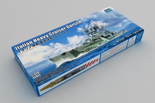 Trumpeter 05349 1/350 Scale Italian Heavy Cruiser Gorizia Military Plastic Assembly Model Kits