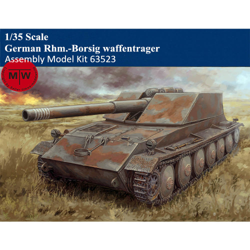 Trumpeter 63523 1/35 Scale German Rhm.-Borsig waffentrager Military Plastic Assembly Model Kit