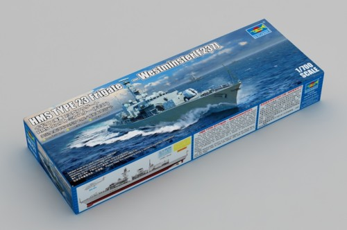 Trumpeter 06721 1/700 Scale HMS Type 23 Frigate Westminster(F237) Military Plastic Assembly Model Kit