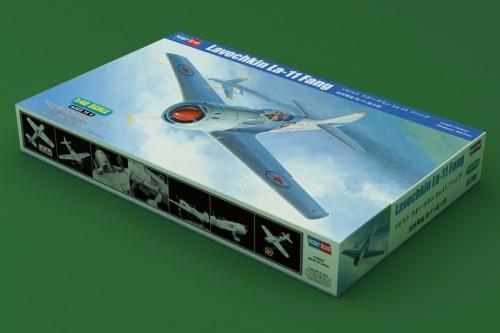 HobbyBoss 81760 1/48 Scale Lavochkin La-11 Fang Fighter Military Plastic Assembly Model Kit