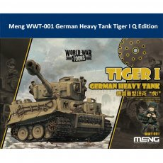 Meng WWT-001 German Heavy Tank Tiger I Q Edition Plastic Assembly Model Kit