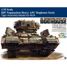 Tiger Model 4624 1/35 Scale IDF Nagmachon Heavy APC Doghouse Early Military Plastic Assembly Model Kit