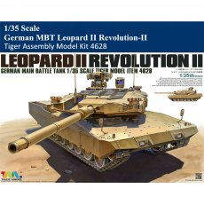 Tiger Model 4628 1/35 Scale German MBT Leopard II Revolution-II Military Plastic Assembly Model Kit