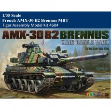 Tiger Model 4604 1/35 Scale French AMX-30 B2 Brennus MBT Military Plastic Assembly Model Kit
