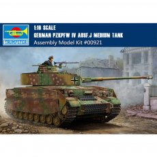 Trumpeter 00921 1/16 Scale German Pzkpfw IV Ausf.J Medium Tank Military Plastic Assembly Model Kit