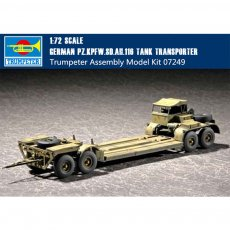 Trumpeter 07249 1/72 Scale German Pz.Kpfw.Sd.Ah.116 Tank Transporter Plastic Military Assembly Model Kits