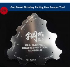 Gun Barrel Grinding Parting Line Scraper Hand Tool General Use for Military Model Hobby Kits AJ0012