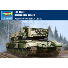 Trumpeter 05542 1/35 Scale Russian 1K17 Szhatie Laser Vehicle Military Plastic Assemble Model Kits