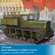 Trumpeter 05540 1/35 Scale Soviet Komintern Artillery Tractor Military Plastic Assembly Model Building Kits