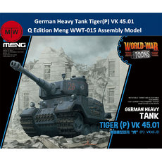 Meng WWT-015 German Heavy Tank Tiger(P) VK 45.01 Q Edition Plastic Assembly Model Kits