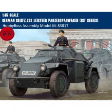 HobbyBoss 83817 1/35 Scale German Sd.Kfz.223 Leichter Panzerspahwagen (1st Series) Military Plastic Assembly Model Kits