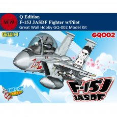 Great Wall Hobby GQ-002 F-15J JASDF Fighter Q Edition w/Pilot Assembly Model Snap Kits