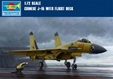 Trumpeter 01670 1/72 Scale Chinese J-15 with Flight Deck Military Plastic Aircraft Assembly Model Kits