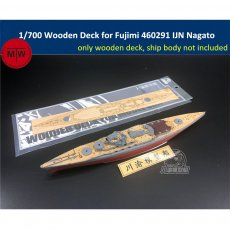1/700 Scale Wooden Deck for Fujimi 460291 IJN Battleship Nagato Model Kits TMW00042