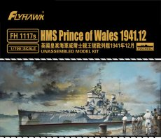 Flyhawk FH1117S 1/700 Scale HMS Prince of Wales Dec.1941 Military Plastic Assembly Model Kits