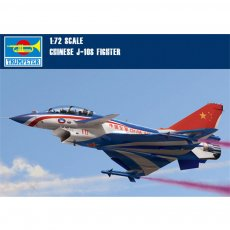 Trumpeter 01644 1/72 Scale J-10S Chinese Fighter Aircraft Military Plastic Assembly Model Kits